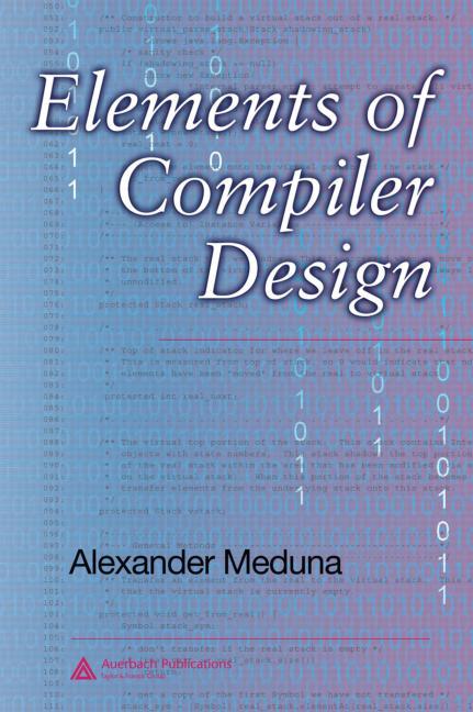 Elements of Compiler Design: 1st Edition (Hardback) book cover