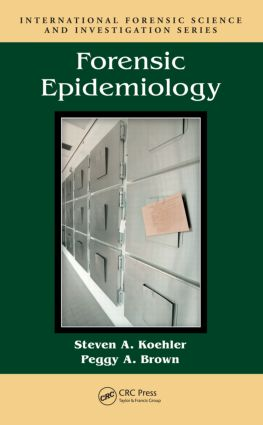 Forensic Epidemiology: 1st Edition (Hardback) book cover