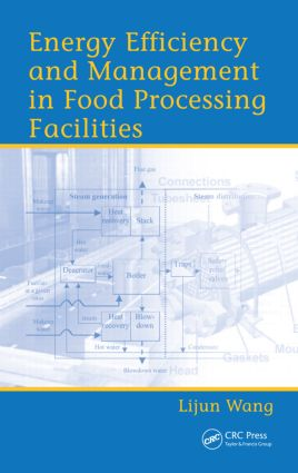Energy Efficiency and Management in Food Processing Facilities: 1st Edition (Hardback) book cover