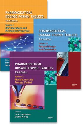 Pharmaceutical Dosage Forms - Tablets: 3rd Edition (Hardback) book cover