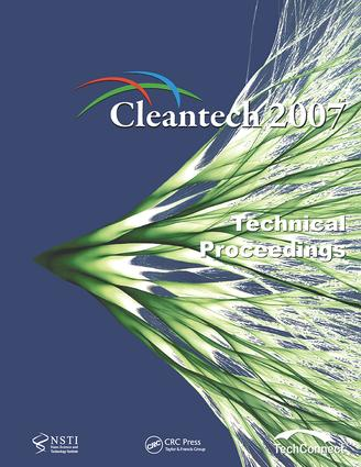 Technical Proceedings of the 2007 Cleantech Conference and Trade Show: 1st Edition (Paperback) book cover
