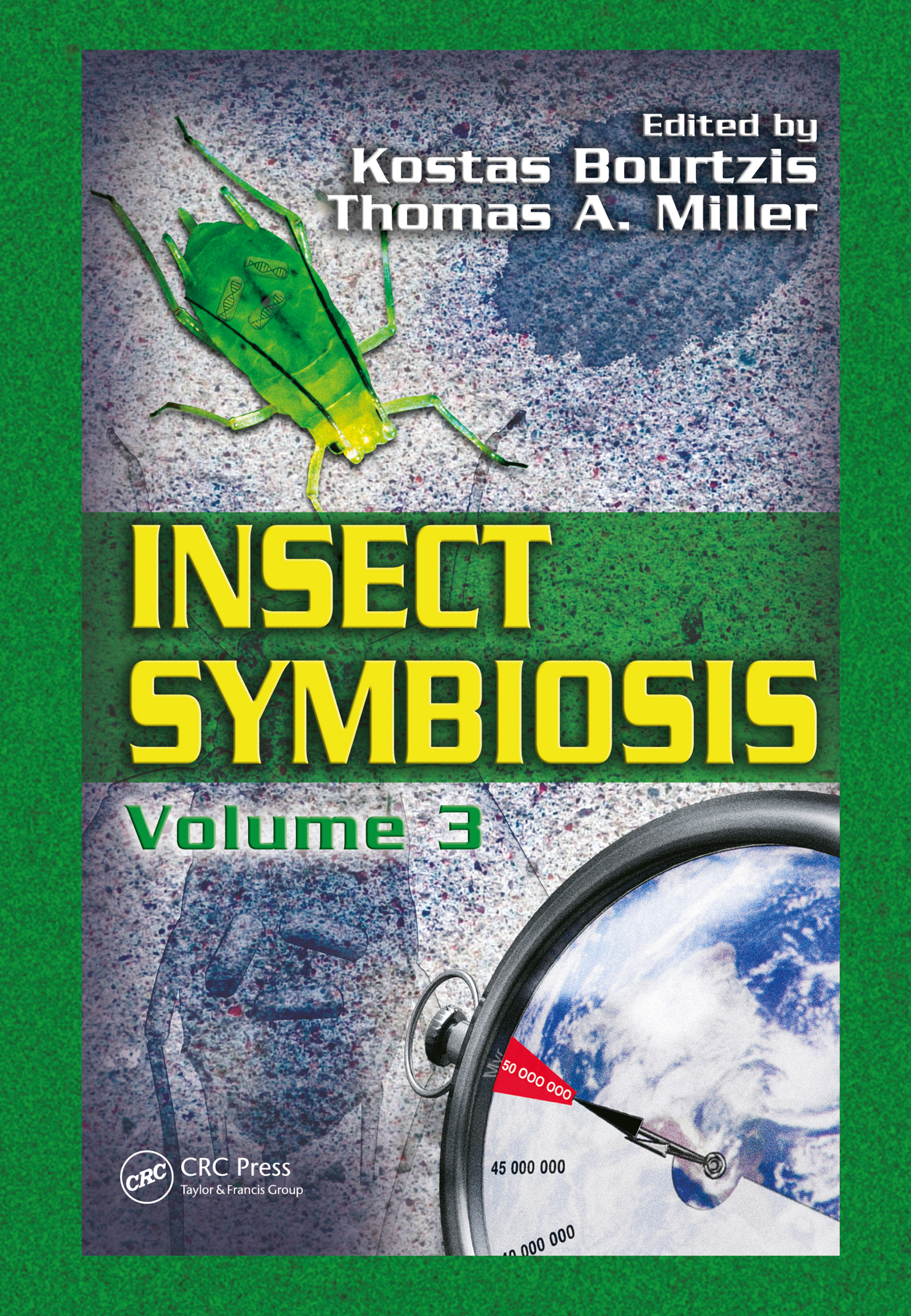 Insect Symbiosis, Volume 3 (Hardback) book cover