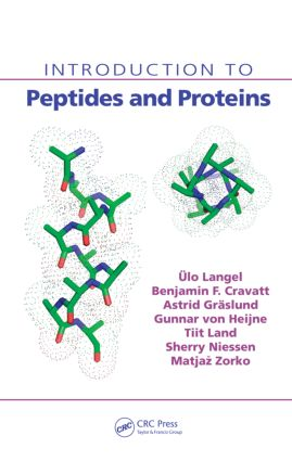 Introduction to Peptides and Proteins: 1st Edition (Hardback) book cover