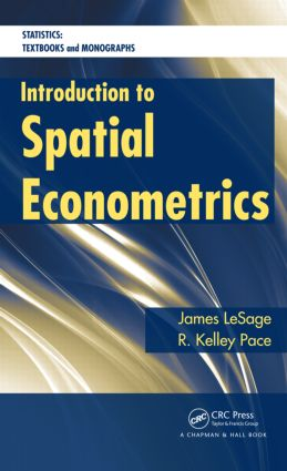 Introduction to Spatial Econometrics (Hardback) book cover