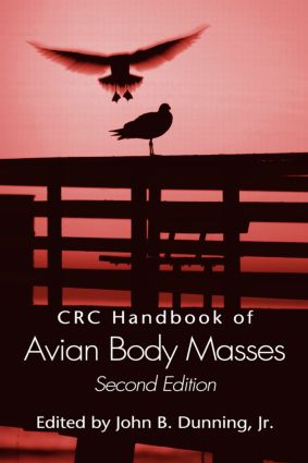 CRC Handbook of Avian Body Masses, Second Edition: 2nd Edition (Hardback) book cover
