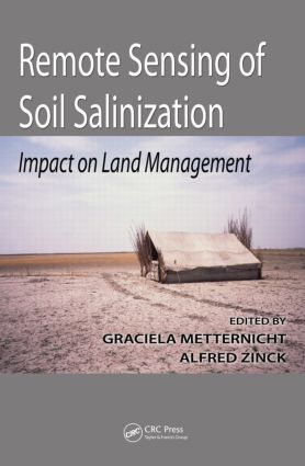 Remote Sensing of Soil Salinization: Impact on Land Management book cover