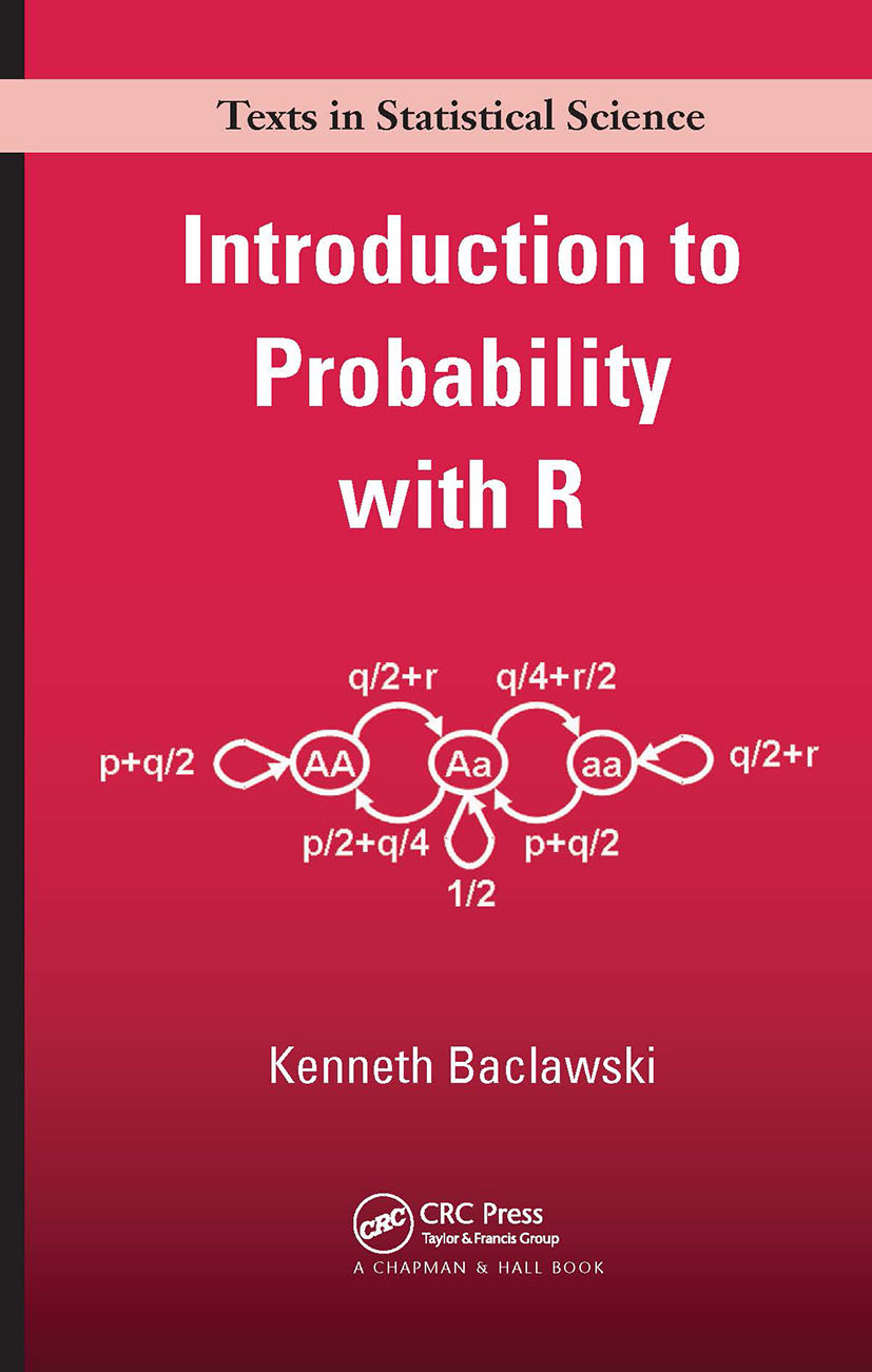 Introduction to Probability with R: 1st Edition (Hardback) book cover