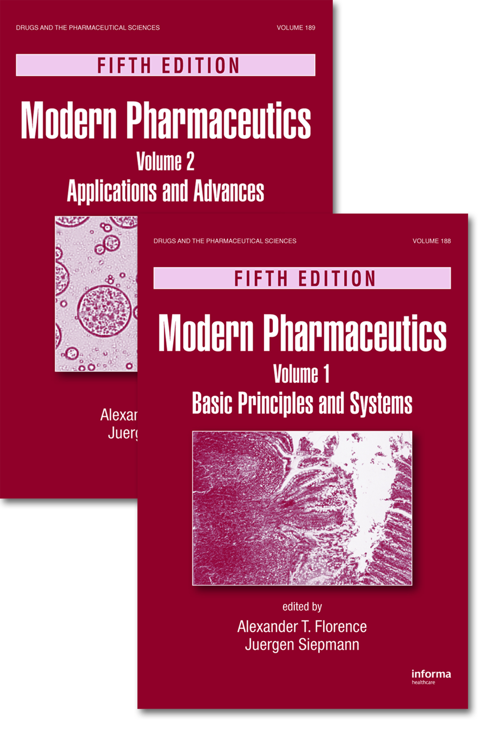 Modern Pharmaceutics, Two Volume Set: 5th Edition (Hardback) book cover