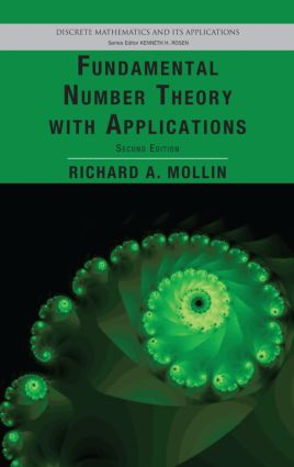 Fundamental Number Theory with Applications: 2nd Edition (Hardback) book cover