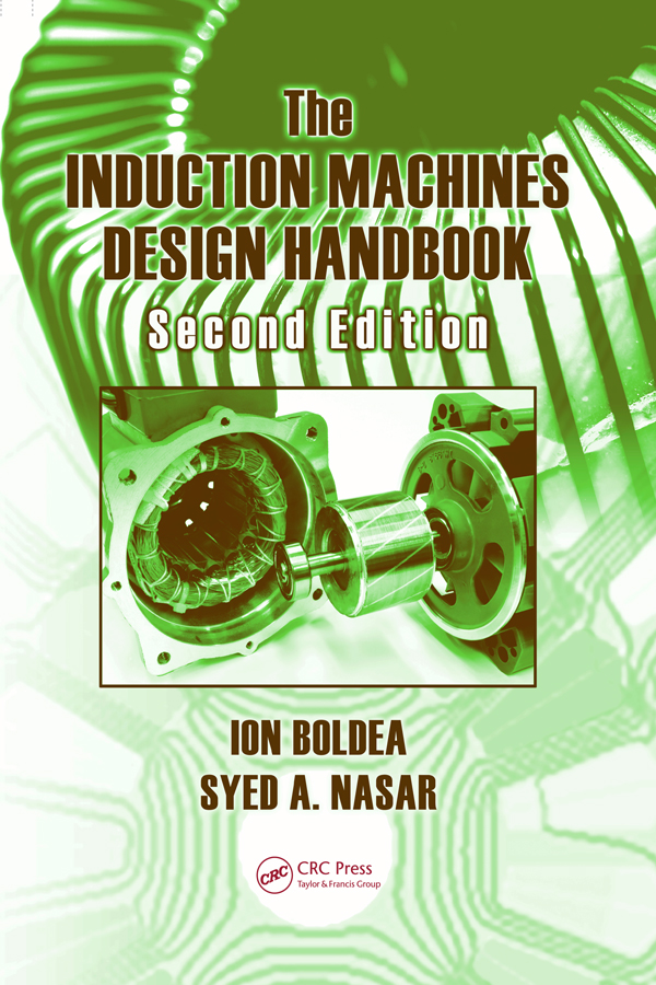 The Induction Machines Design Handbook: 2nd Edition (Hardback) book cover