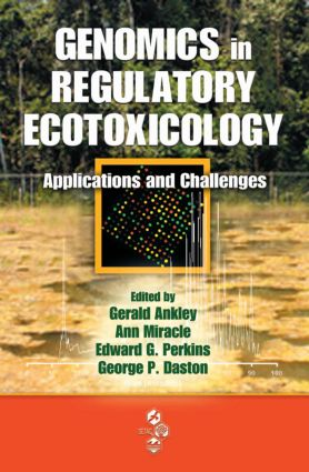 Genomics in Regulatory Ecotoxicology: Applications and Challenges, 1st Edition (Hardback) book cover