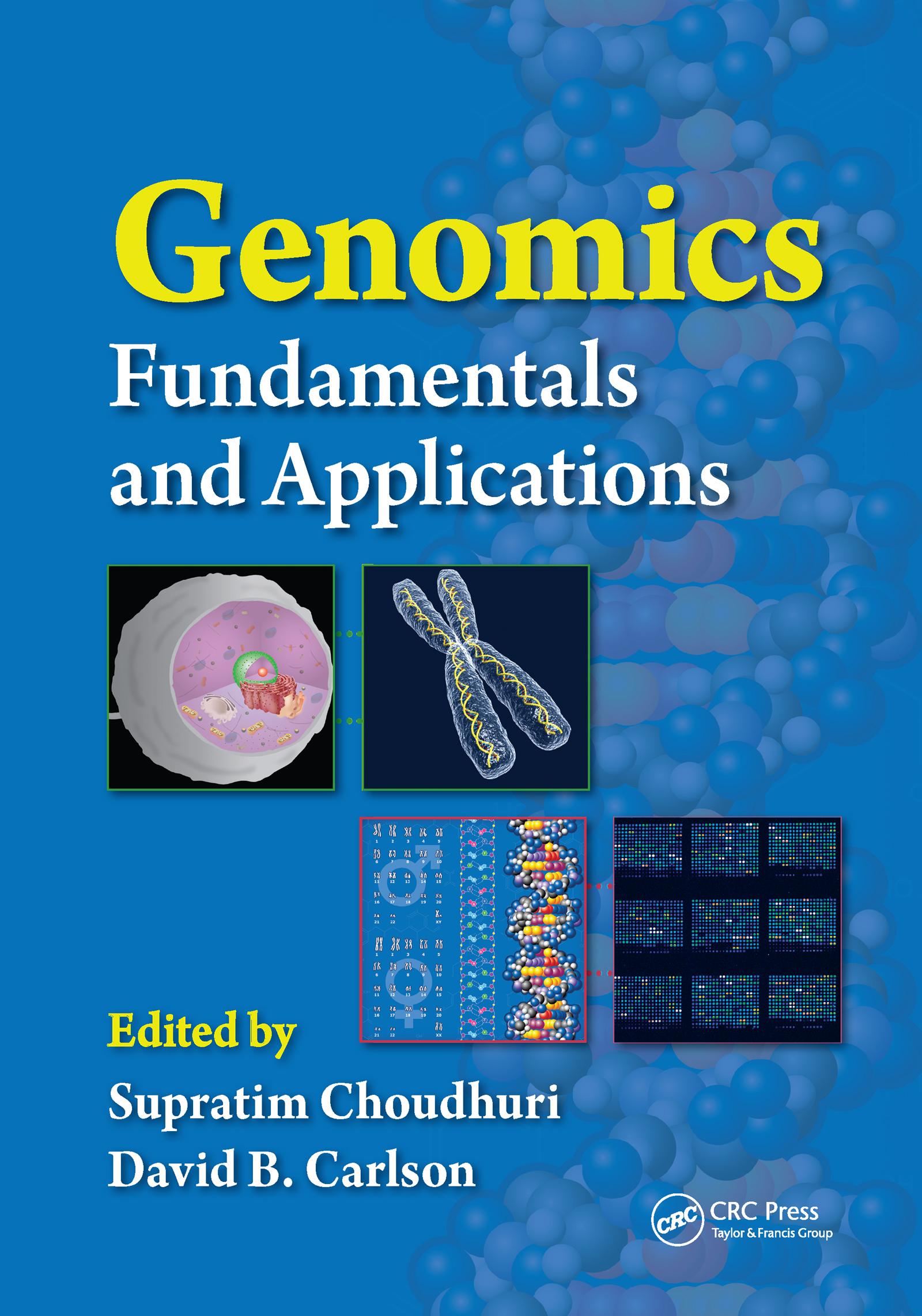 Genomics: Fundamentals and Applications, 1st Edition (Hardback) book cover