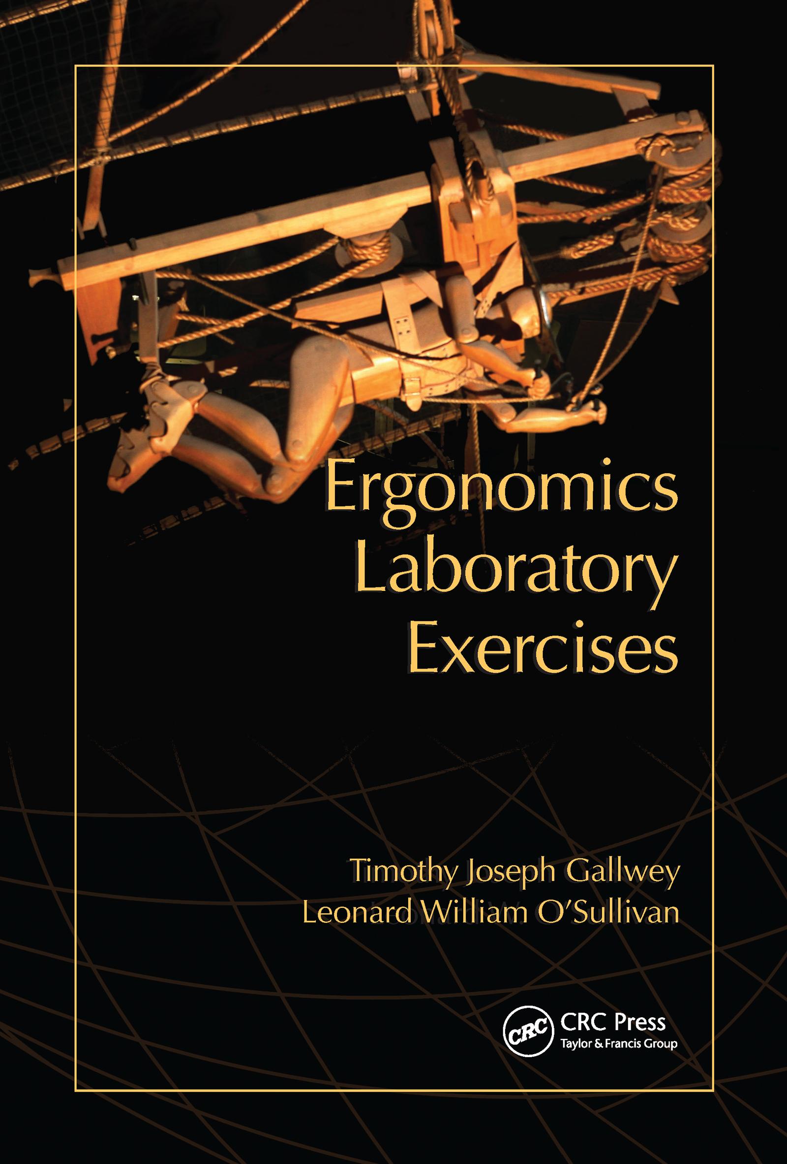 Ergonomics Laboratory Exercises: 1st Edition (Paperback) book cover