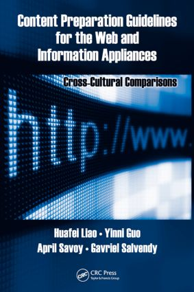 Content Preparation Guidelines for the Web and Information Appliances: Cross-Cultural Comparisons, 1st Edition (Hardback) book cover
