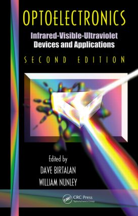 Optoelectronics: Infrared-Visable-Ultraviolet Devices and Applications, Second Edition, 2nd Edition (Hardback) book cover
