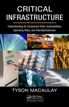 Critical Infrastructure: Understanding Its Component Parts, Vulnerabilities, Operating Risks, and Interdependencies, 1st Edition (Hardback) book cover
