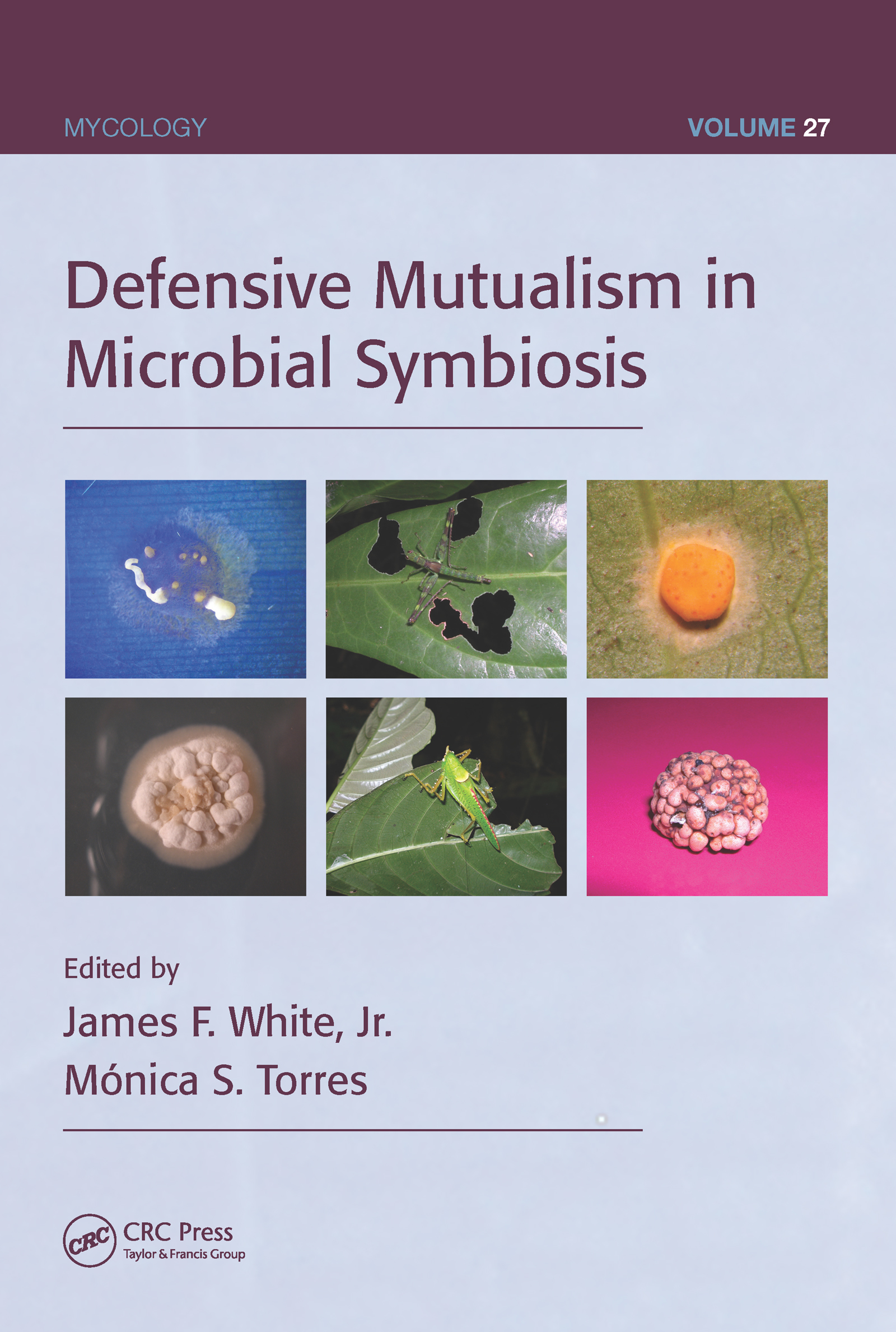 Defensive Mutualism in Microbial Symbiosis (Hardback) book cover