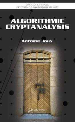 Algorithmic Cryptanalysis book cover
