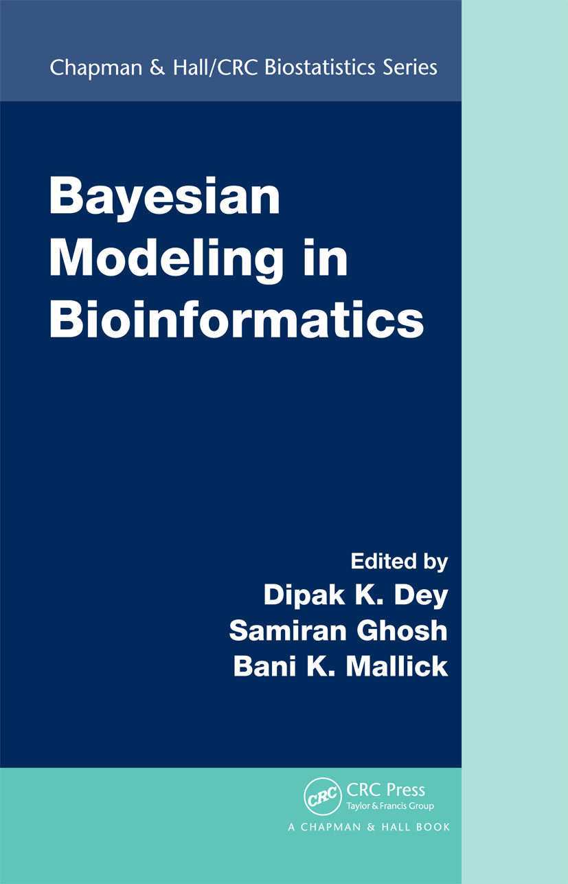 Bayesian Modeling in Bioinformatics: 1st Edition (Hardback) book cover