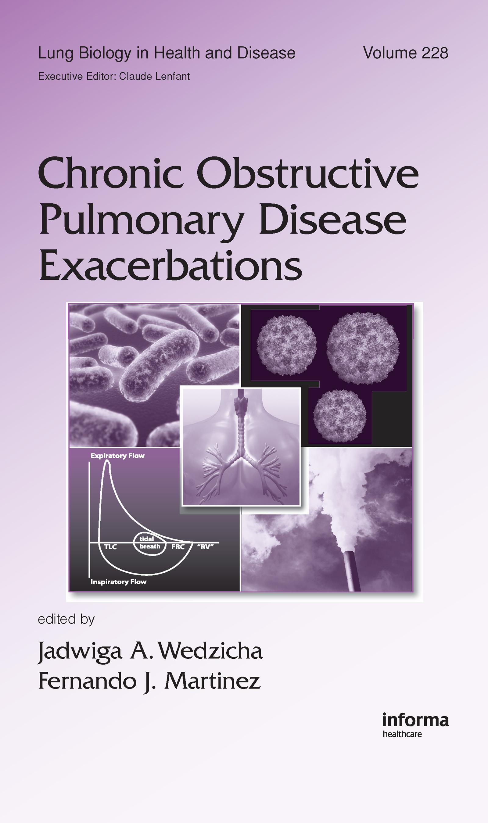 Chronic Obstructive Pulmonary Disease Exacerbations: 1st Edition (Hardback) book cover