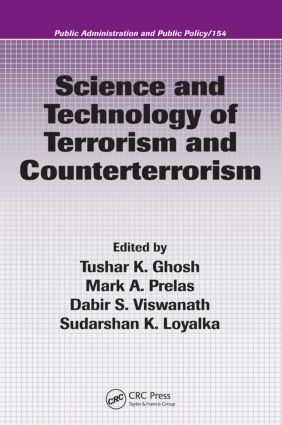 Science and Technology of Terrorism and Counterterrorism book cover