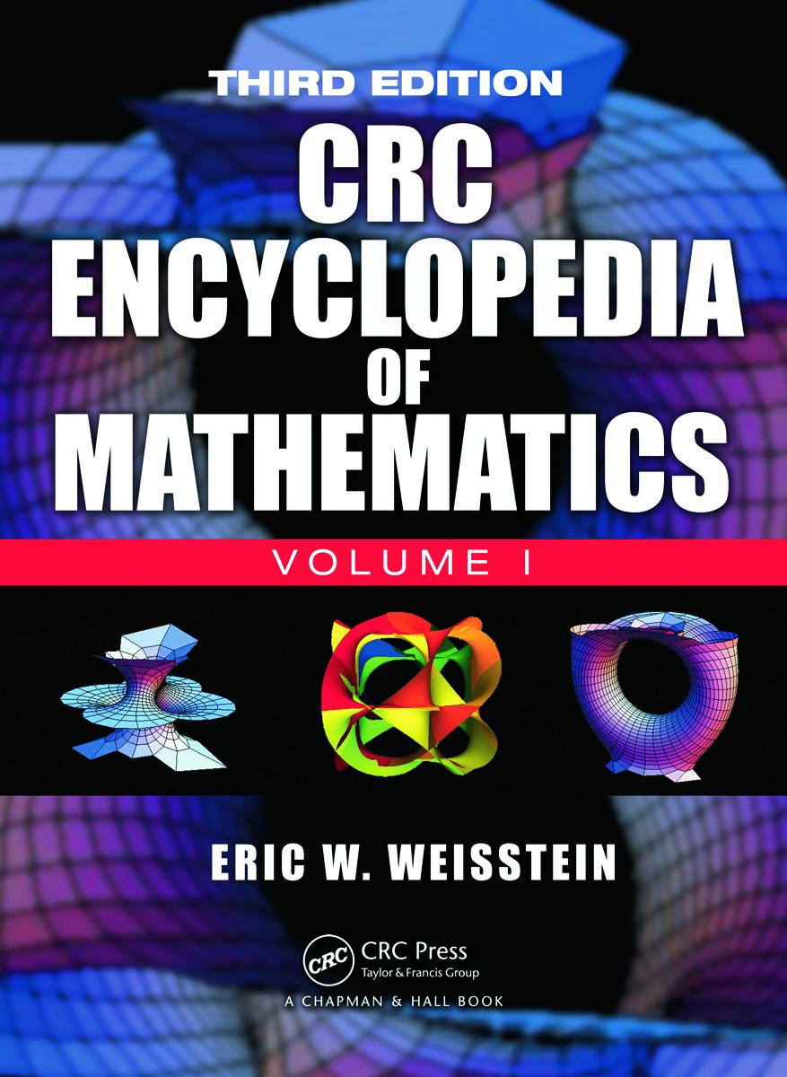 The CRC Encyclopedia of Mathematics, Third Edition - 3 Volume Set: 3rd Edition (Hardback) book cover