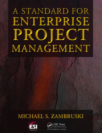 A Standard for Enterprise Project Management book cover