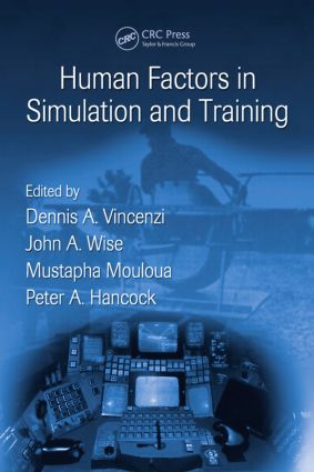 Human Factors in Simulation and Training (Hardback) book cover