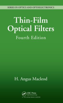 Thin-Film Optical Filters book cover