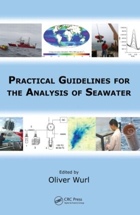 Practical Guidelines for the Analysis of Seawater: 1st Edition (Hardback) book cover