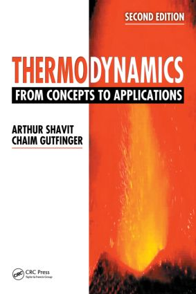 Thermodynamics: From Concepts to Applications, Second Edition, 2nd Edition (Hardback) book cover