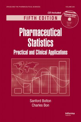 Pharmaceutical Statistics: Practical and Clinical Applications, Fifth Edition, 5th Edition (Hardback) book cover