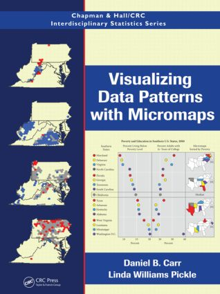 Visualizing Data Patterns with Micromaps (Hardback) book cover
