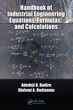 Handbook of Industrial Engineering Equations, Formulas, and Calculations: 1st Edition (Hardback) book cover