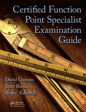 Certified Function Point Specialist Examination Guide: 1st Edition (Paperback) book cover