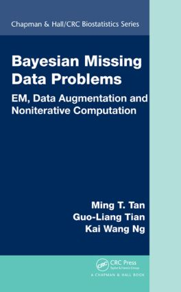 Bayesian Missing Data Problems: EM, Data Augmentation and Noniterative Computation, 1st Edition (Hardback) book cover