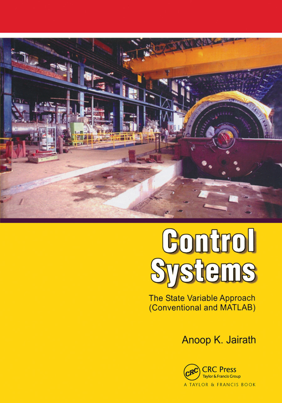 Control Systems: A State Variable Approach, 1st Edition (Hardback) book cover