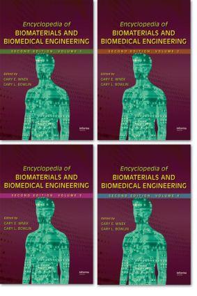 Encyclopedia of Biomaterials and Biomedical Engineering: 2nd Edition (Hardback) book cover