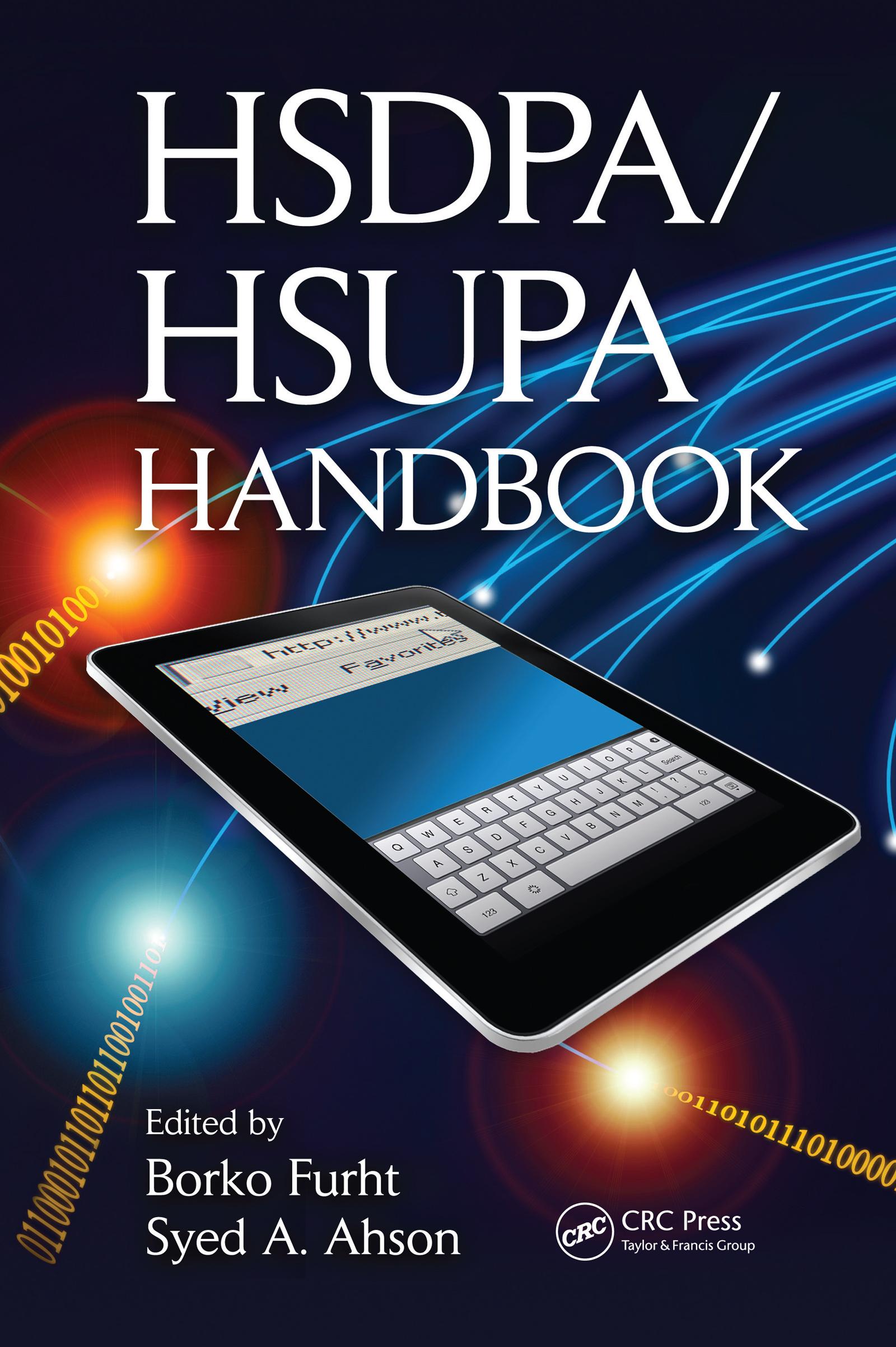 HSDPA/HSUPA Handbook: 1st Edition (Hardback) book cover