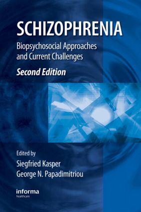 Schizophrenia book cover