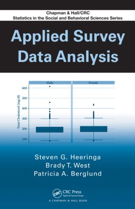 Applied Survey Data Analysis (Hardback) book cover