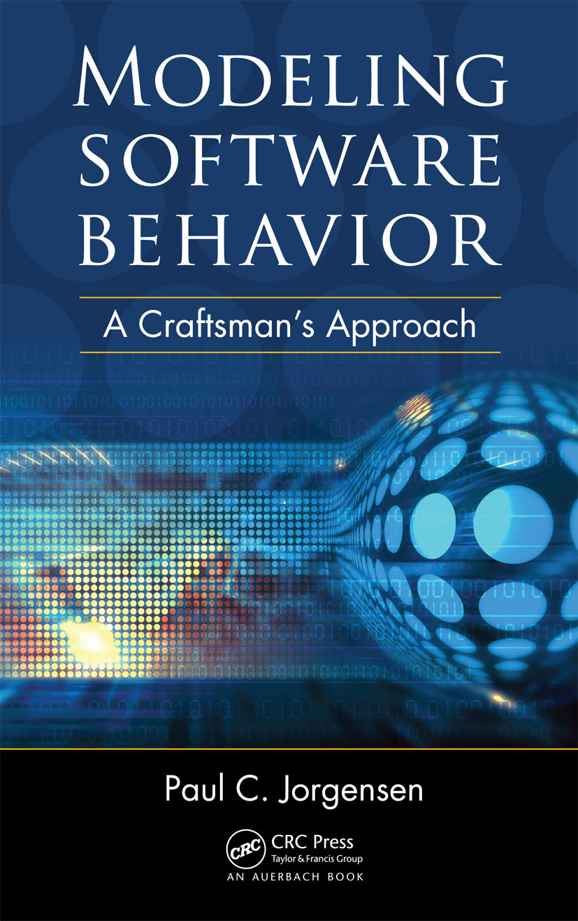 Modeling Software Behavior: A Craftsman's Approach, 1st Edition (Hardback) book cover