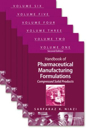 Handbook of Pharmaceutical Manufacturing Formulations: 2nd Edition (Hardback) book cover