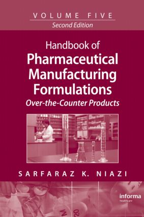 Handbook of Pharmaceutical Manufacturing Formulations: Over-the-Counter Products, 2nd Edition (Hardback) book cover