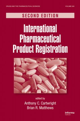 International Pharmaceutical Product Registration: 2nd Edition (Hardback) book cover