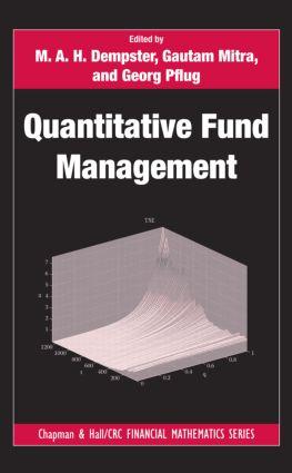 Quantitative Fund Management book cover