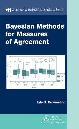 Bayesian Methods for Measures of Agreement (Hardback) book cover