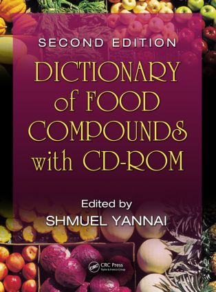 Dictionary of Food Compounds with CD-ROM book cover