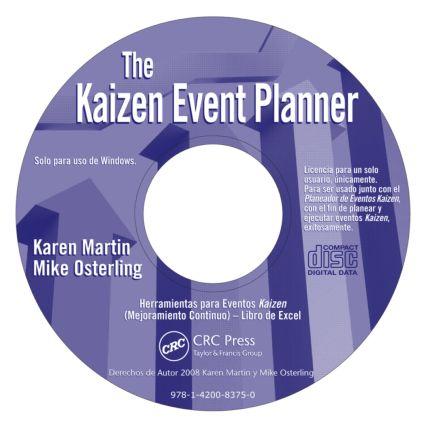 Kaizen Event Planner - Spanish CD ROM (CD-ROM) book cover