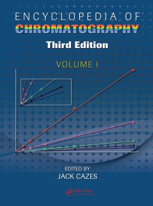 Encyclopedia of Chromatography: 3rd Edition (Hardback) book cover
